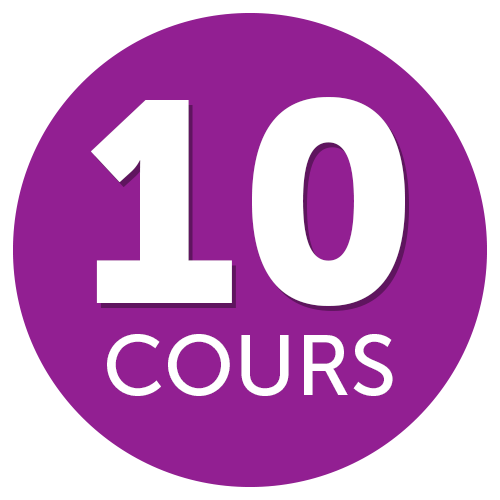 10 cours